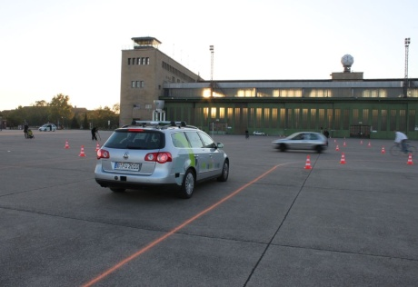 Autonomous Drive on Berlin, Tempelhof Airport